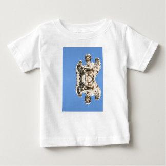 Camiseta De Bebé Ángel de piedra en Roma, Italia