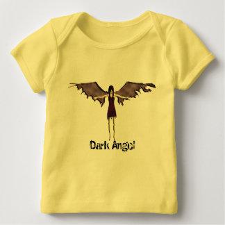 Camiseta De Bebé ángel oscuro
