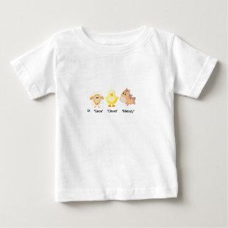 Camiseta De Bebé ¡Animal-Tolerancia, acorde y melodía del bebé!