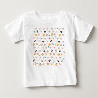 Camiseta De Bebé Animals face