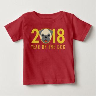 Camiseta De Bebé Año Nuevo chino 2018 años del barro amasado del