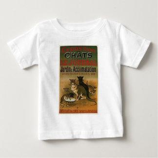 Camiseta De Bebé Anuncio francés del vintage - gatos