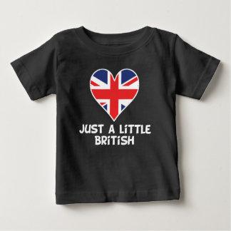 Camiseta De Bebé Apenas un poco británico