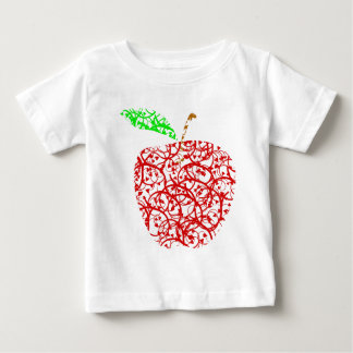 Camiseta De Bebé apple2