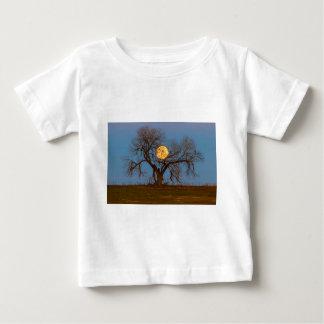 Camiseta De Bebé Árbol de noviembre Supermoon