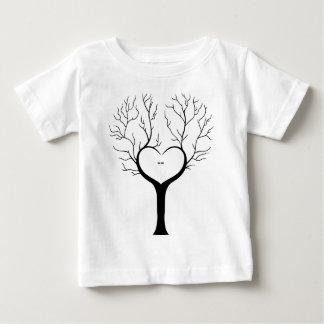 Camiseta De Bebé Árbol de Thumbprint