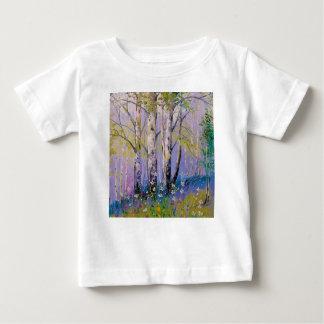 Camiseta De Bebé Arboleda del abedul