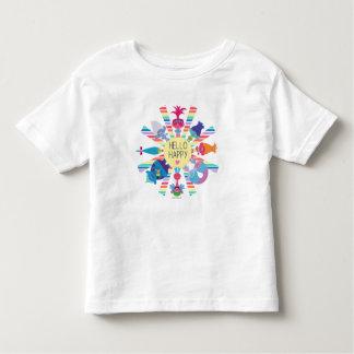 Camiseta De Bebé Arco iris Sun del paquete del bocado de los