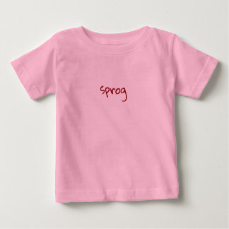 Camiseta De Bebé Argot británico, sprog