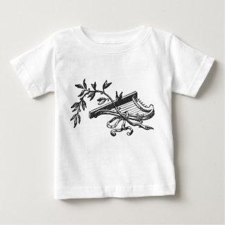 Camiseta De Bebé Arpa y bayas