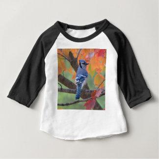 Camiseta De Bebé Arrendajo azul