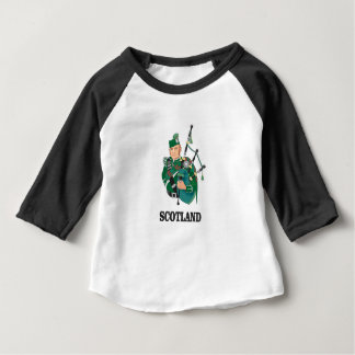 Camiseta De Bebé Arte de Escocia