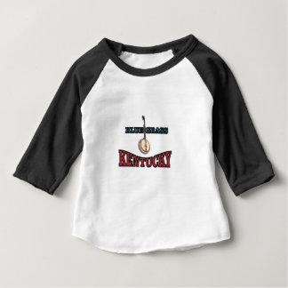 Camiseta De Bebé Arte del Bluegrass de Kentucky