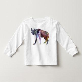 Camiseta De Bebé Arte del Hyena