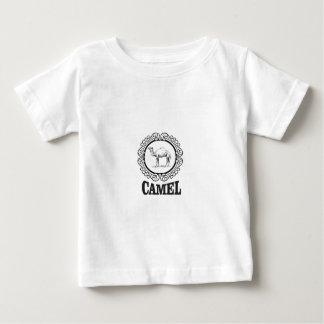 Camiseta De Bebé arte del logotipo del camello