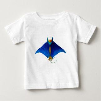 Camiseta De Bebé arte del rayo de manta