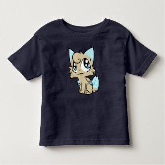 Camiseta De Bebé Arte dulce del gato del dibujo animado