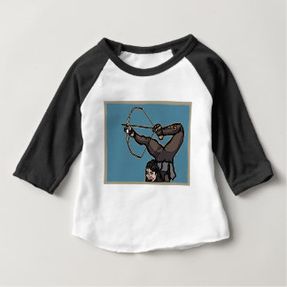Camiseta De Bebé AsianFeetArcher