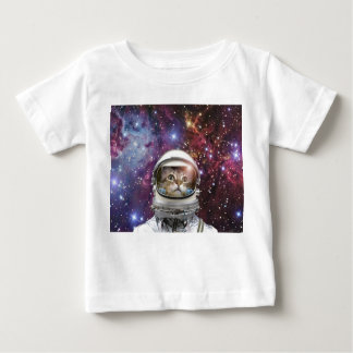 Camiseta De Bebé Astronauta del gato - gato loco - gato