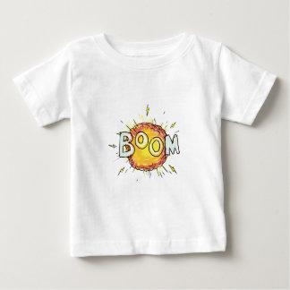 Camiseta De Bebé Auge de la explosión del dibujo animado