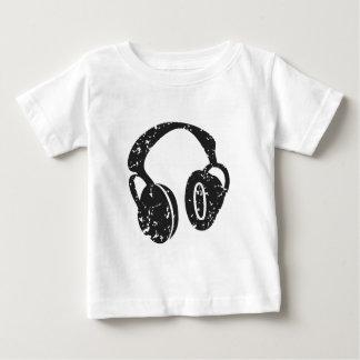 Camiseta De Bebé Auriculares apenados