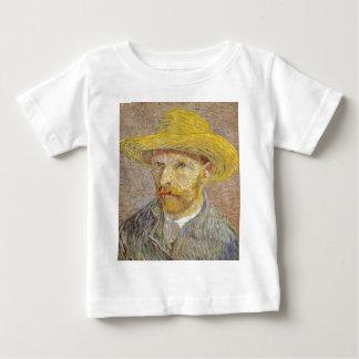 Camiseta De Bebé Autorretrato de Vincent van Gogh con arte del