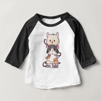 Camiseta De Bebé ¡Aw, ratas!