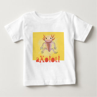 Camiseta De Bebé aXolotl