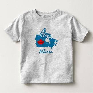Camiseta De Bebé Azul de la provincia de Canadá del personalizar de