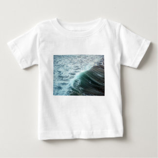 Camiseta De Bebé Azul del Océano Pacífico