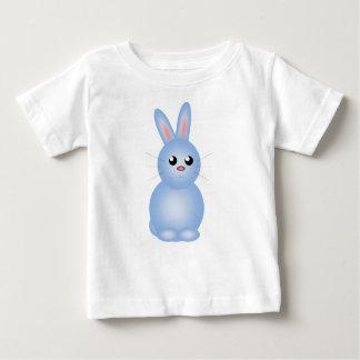 Camiseta De Bebé Azul feliz Bunnise de Pascua