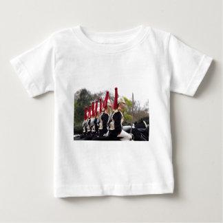 Camiseta De Bebé Azules y caballería de los Royals