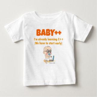 Camiseta De Bebé Baby ++