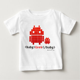 Camiseta De Bebé Baby Geek