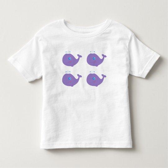 Camiseta De Bebé Baby whale child shirt