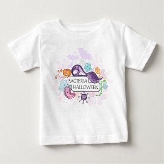 Camiseta De Bebé Bacterias Halloween