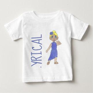 Camiseta De Bebé Bailarín moderno de la danza del traje lírico
