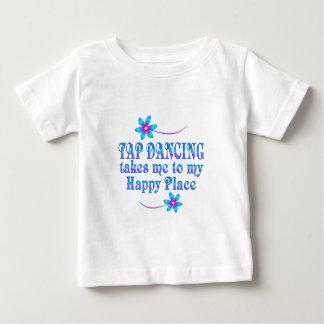 Camiseta De Bebé Baile de golpecito mi lugar feliz
