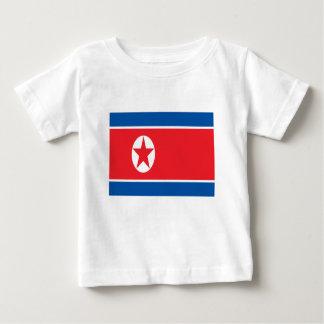 Camiseta De Bebé ¡Bajo costo! Bandera de Corea del Norte