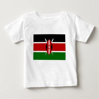 Camiseta De Bebé ¡Bajo costo! Bandera de Kenia
