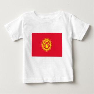 Camiseta De Bebé ¡Bajo costo! Bandera de Kirguistán
