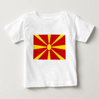 Camiseta De Bebé ¡Bajo costo! Bandera de Macedonia
