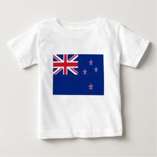 Camiseta De Bebé ¡Bajo costo! Bandera de Nueva Zelanda