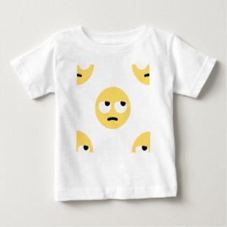 Camiseta De Bebé balanceo del ojo del emoji