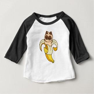 Camiseta De Bebé Banana Cats