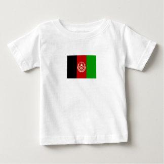 Camiseta De Bebé Bandera afgana patriótica