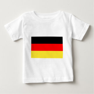 Camiseta De Bebé Bandera alemana