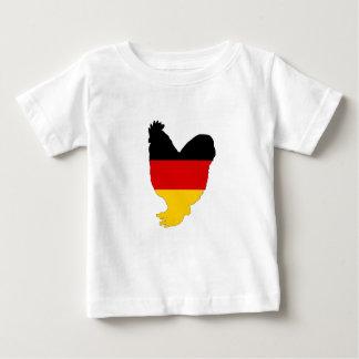 Camiseta De Bebé Bandera alemana - gallo