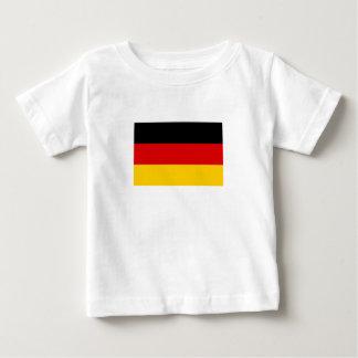 Camiseta De Bebé Bandera alemana patriótica