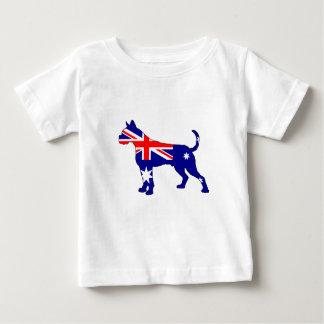 Camiseta De Bebé Bandera australiana - boxeador